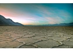 美丽高原荒漠风景