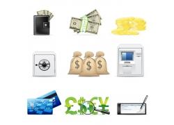 金融商业图标