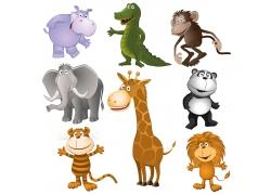 可爱卡通动物形象
