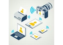 照片网络和电子产品
