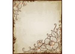 花纹复古背景设计