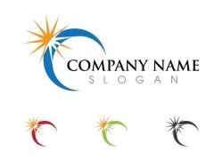太阳logo设计