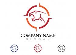 豹子logo设计