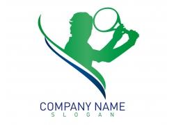 网球logo设计