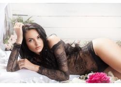 性感内衣模特美女摄影