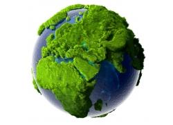 绿色环保地球主题