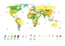 彩色地图图片