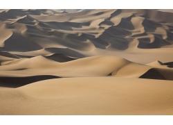 美丽沙漠沙丘风景