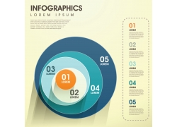 创意信息图表元素设计
