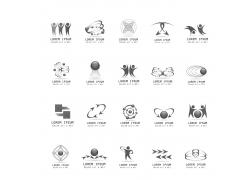 创意人形Logo设计