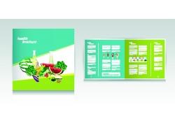 水果蔬菜折页传单图片