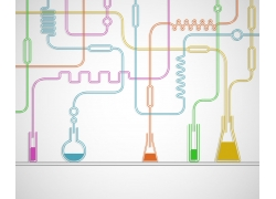 彩色试剂与结构图