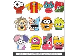 游戏怪物玩具设计图片