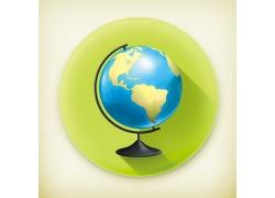 地球仪图标图片