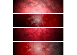 红色海报背景
