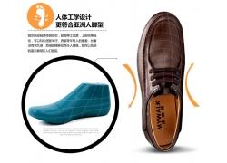 皮鞋细节展示