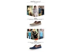 休闲皮鞋细节说明