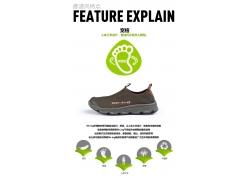 透气网眼鞋细节