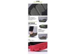 登山透气防滑鞋细节