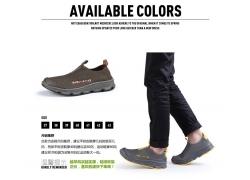 网眼运动鞋细节说明
