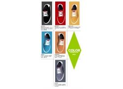 休闲板鞋细节展示
