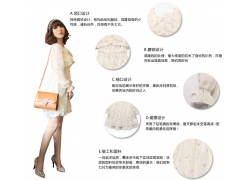 时尚雪纺女士服装