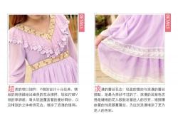 女生蕾丝裙子细节说明