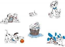 可爱卡通狗狗图片