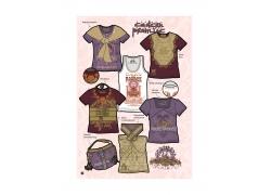 时尚T恤设计