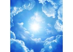 美丽云朵背景