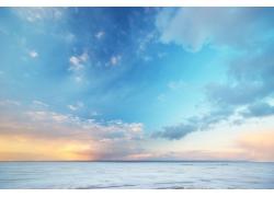 海面天空云彩风景