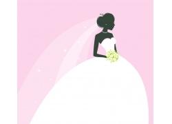 白色的婚纱