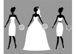 美女的新娘
