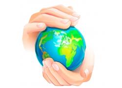 双手保护地球