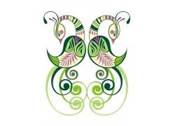 矢量动物花纹设计图片