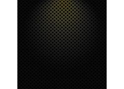 黑色镂空金属背景