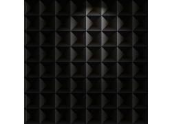 黑色金属立体背景