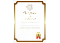 荣誉证书模板