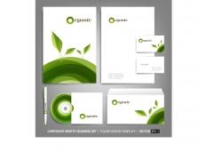 绿色植物VI设计