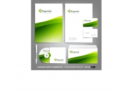 绿色简洁VI设计