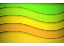 彩色条纹背景设计