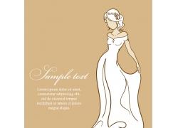 卡通新娘设计