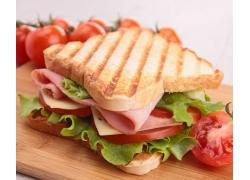 面包快餐美食