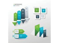 3D创意信息图表设计元素