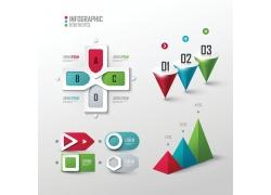 3D各种创意信息图表元素