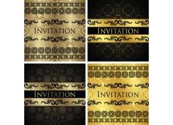 金色花纹封面设计