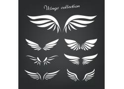 矢量翅膀图标