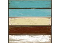 刷油漆的木板背景