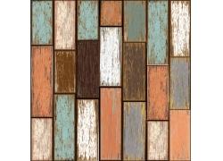 彩色木地板背景