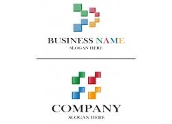 创意方块logo设计